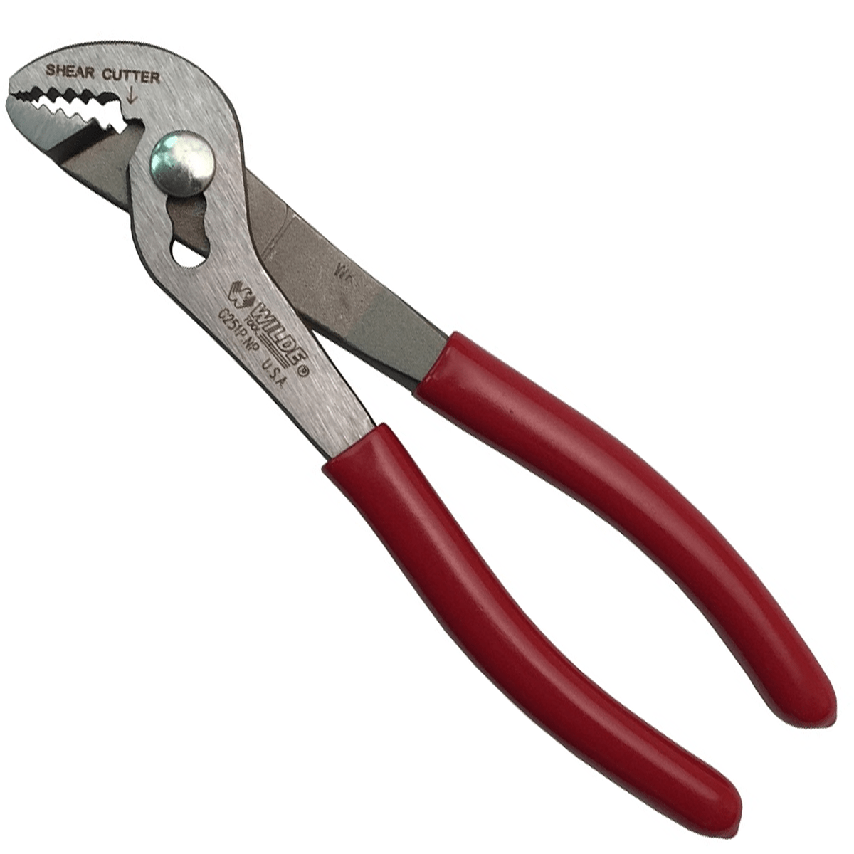 6 34 Angle Nose Pliers Polished G251p Wilde Tool