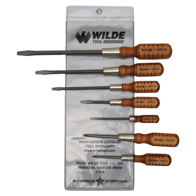 Wood Handle Screwdrivers